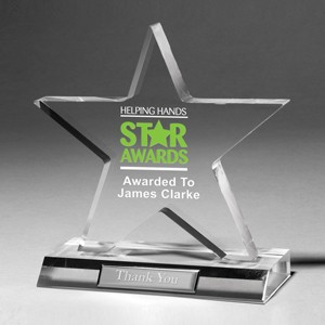 Large Star Award - 4 Color Process