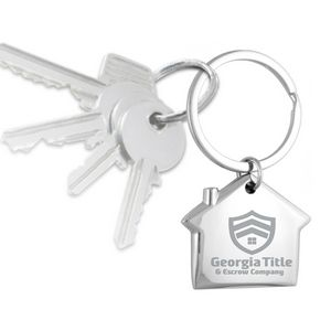Home Sweet Home Laser Engraved Metal Key Holder