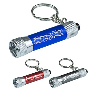 """Galatea"" Mini 3 LED Aluminum Keychain Keylight (Overseas)"