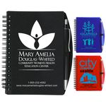 Custom Carmel Jotter Notepad Notebook w/ Pen