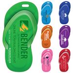 Custom Sandal Luggage Tag