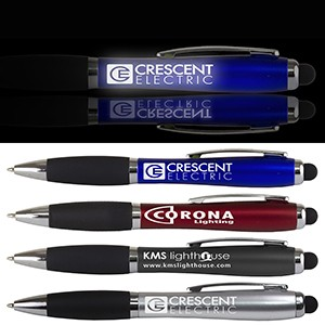 """The Corona"" Laser Light Up Stylus Pen"