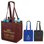 Custom 6 Bottle Wine Tote Bag