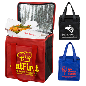 Super Frosty Insulated Cooler Lunch Tote Bag