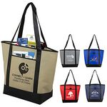 Custom 80GSM Non-Woven The City Life Tote Bag
