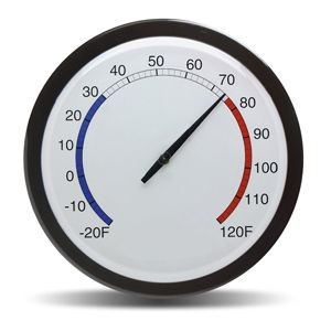 """Caliente"" 14"" Wall Thermometer"