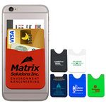 Custom Soft Silicone Cell Phone Wallet (Overseas)