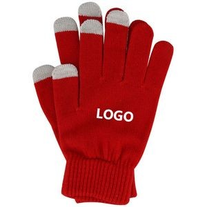 Unisex Touch Screen Compatible Gloves