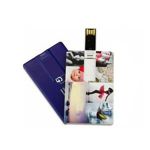 16 GB Full Color Printed Credit Card USB Drive
