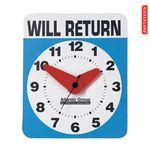 Custom Kikkerland Will Return Wall Clock
