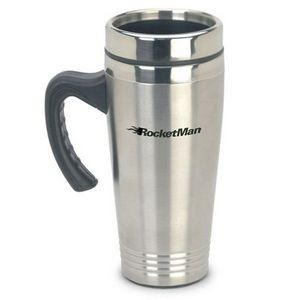16 Oz. Buzz Stainless Steel Tumbler w/ Handle