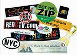 Custom Stik-Withit Bumper Sticker (4