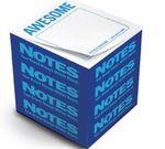 Custom Knock Knock Stik-Withit Full Size Note Cube Notepads (3 3/8