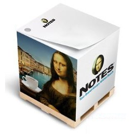 "Full Size Non-Adhesive Note Cube® Notepad (2 3/4""x2 3/4""x2 3/4"")"