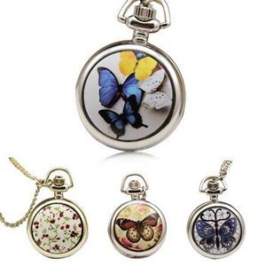 Necklace Watch with Pendant