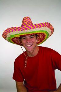 Custom Striped Colored Sombrero Hat