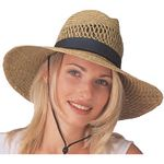Custom Adult Straw Lindu Safari Hat