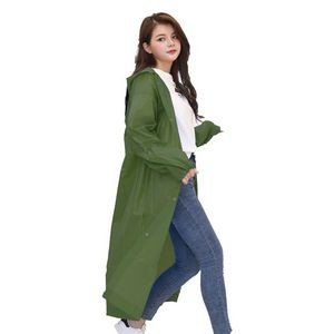 Reusable Unisex Poncho Protective Raincoat
