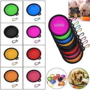 Custom Collapsible Pet Bowls