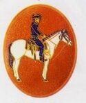 Custom Western Rider Cloisonne Medallion Bolo Tie