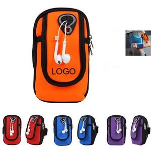 Sport Arm Mobile Bag with Earphone Port