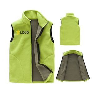 Outdoor Expedition Fleece Vest For Men And Women