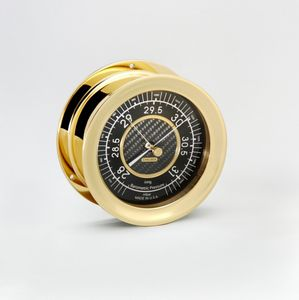Carbon Fiber Barometer with 4 1/2 Dial