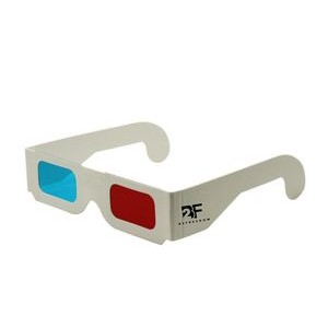 3D Eyeglass Paper Red and Blue Stereo Eyeglasses for Movie Decoration