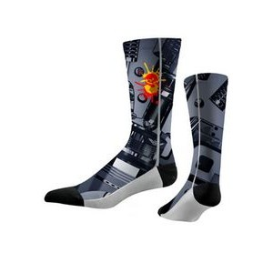 Full color sublimated Crew socks