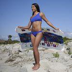 Custom FOTO Vision Beach Towel