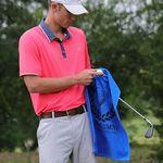 Custom The Platinum Collection Golf Towel w/ Corner Grommet (Screen Print)