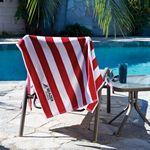 Custom Midweight Cabana Beach Towel (Embroidery)