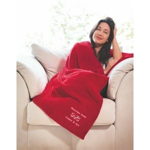 Soft Touch Velura™ Throw (Embroidery)