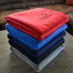 Custom Promo Fleece Blanket (Embroidery)
