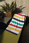 Custom Stock Design Stripe Beach Towel (Printed)