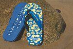 Custom Tahiti Flip Flops