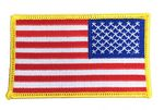 Custom Stock Reverse United States Flag Patch