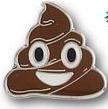 Custom Emoji Pile Poop Pins