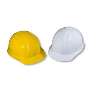 OSHA Approved Hardhat w/ 4-Point Slide-Lock Suspension