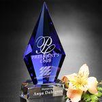 Custom Azurite Award 6-3/4