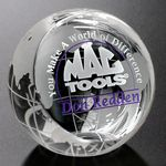 Custom Clipped Globe 4