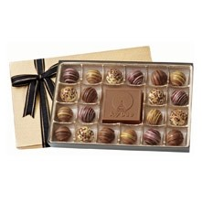 20 Piece Gift Box of Chocolates w/Chocolate Centerpiece