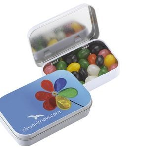 Rectangular Tin w/ Assorted Jelly Beans