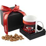 Custom Mug & Cashews Gift Box