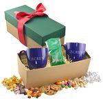Custom 2 Mug Gift Box- Caramel Popcorn