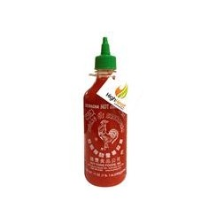 28 Oz. Bottle Sriracha Sauce w/ Custom Hang-Tag