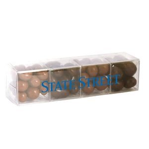 4 Cube Acetate Gift Box w/Chocolate Covered Treats
