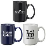 Custom 15 Oz. Ceramic Coffee Mug