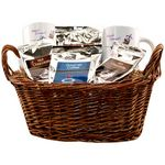 Custom 2 Full Color Mug Deluxe Gift Basket