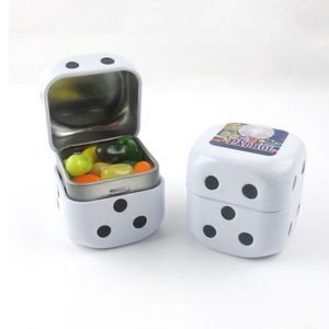Roll the Dice Tin w/ Jelly Belly